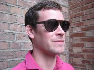 Rhodri Luff Wilson Wilson Hancock wearing Bambooka Sunglasses sm